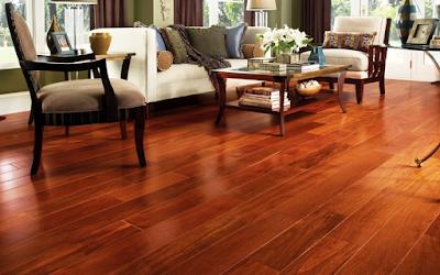 sử dụng sàn gỗ tự nhiên cho không gian chật