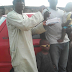 The father of four year old boy whose eyes were plucked out in Kaduna gets a car gift from a good Nigerian..photos