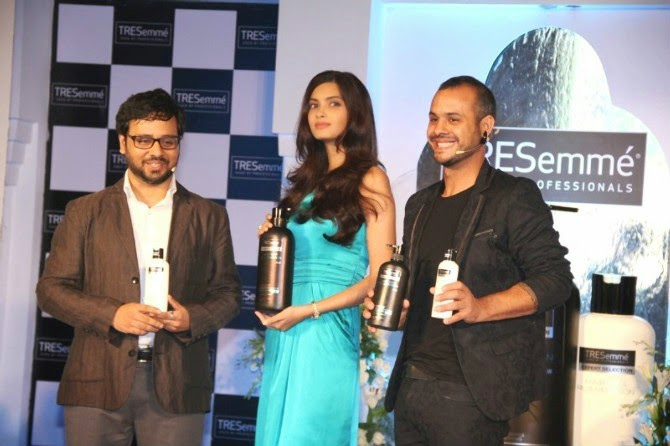 Diana Penty at Tresemme Hair Product Launch