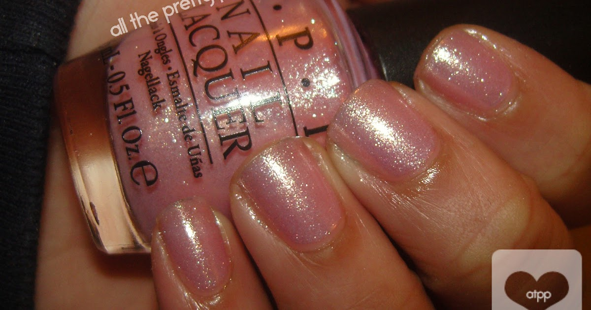 All The Pretty Polish Opi Princesses Rule Swatches