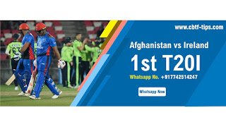 Who will win Today 1st match Afg vs Ire International 2020