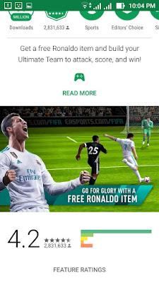 تحميل أحدث إصدار من لعبة Fifa 18  للأندرويد مهكره ومميزاتها الجديدة