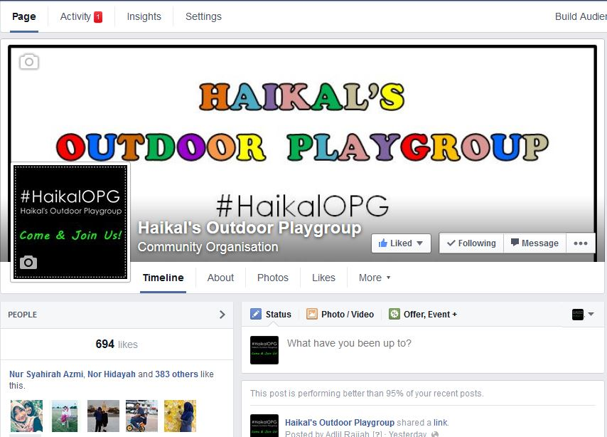 https://www.facebook.com/HaikalOPG