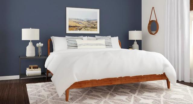 modern wall design ideas for bedroom