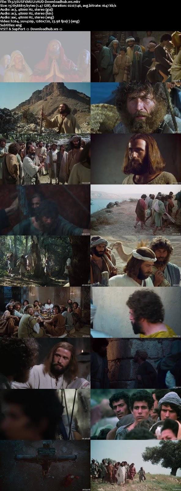 The Jesus Film 1979 Hindi Multi Audio 720p  Free Download