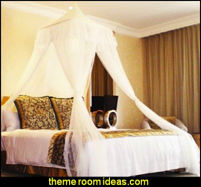 Square Top Bed Canopy