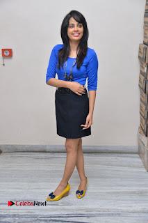 Actress Nandita Swetha Stills in Black Mini Skirt at Ekkadiki Potavu Chinnavada Movie Special Show  0065.JPG