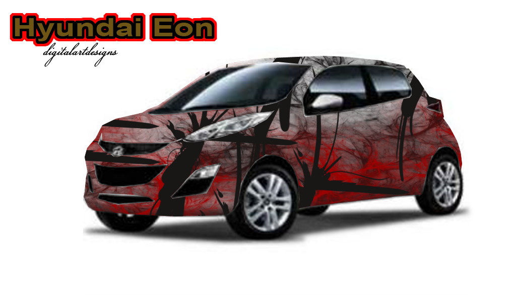 Hyundai Eon Decals Abstract Style