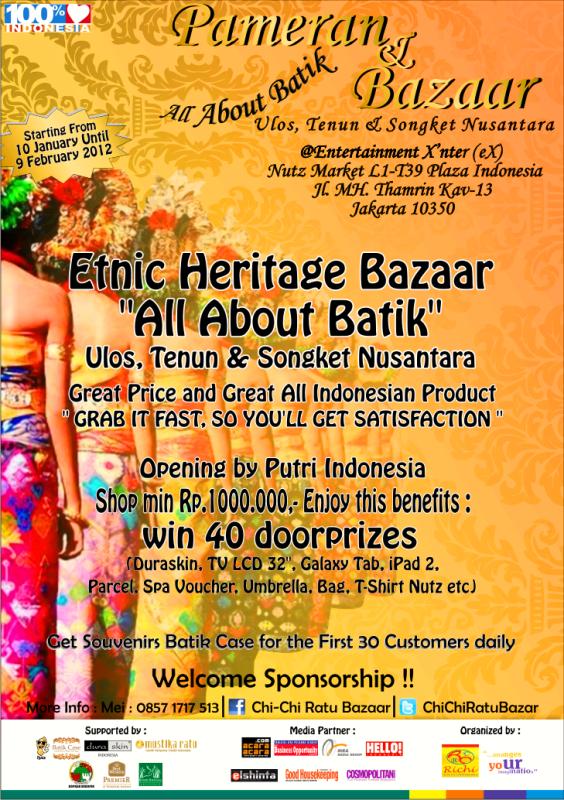 Pameran All Batik Jasa Sebar Brosur