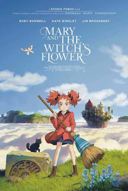Sinopsis Mary and the Witch's Flower (2017) - Film Jepang