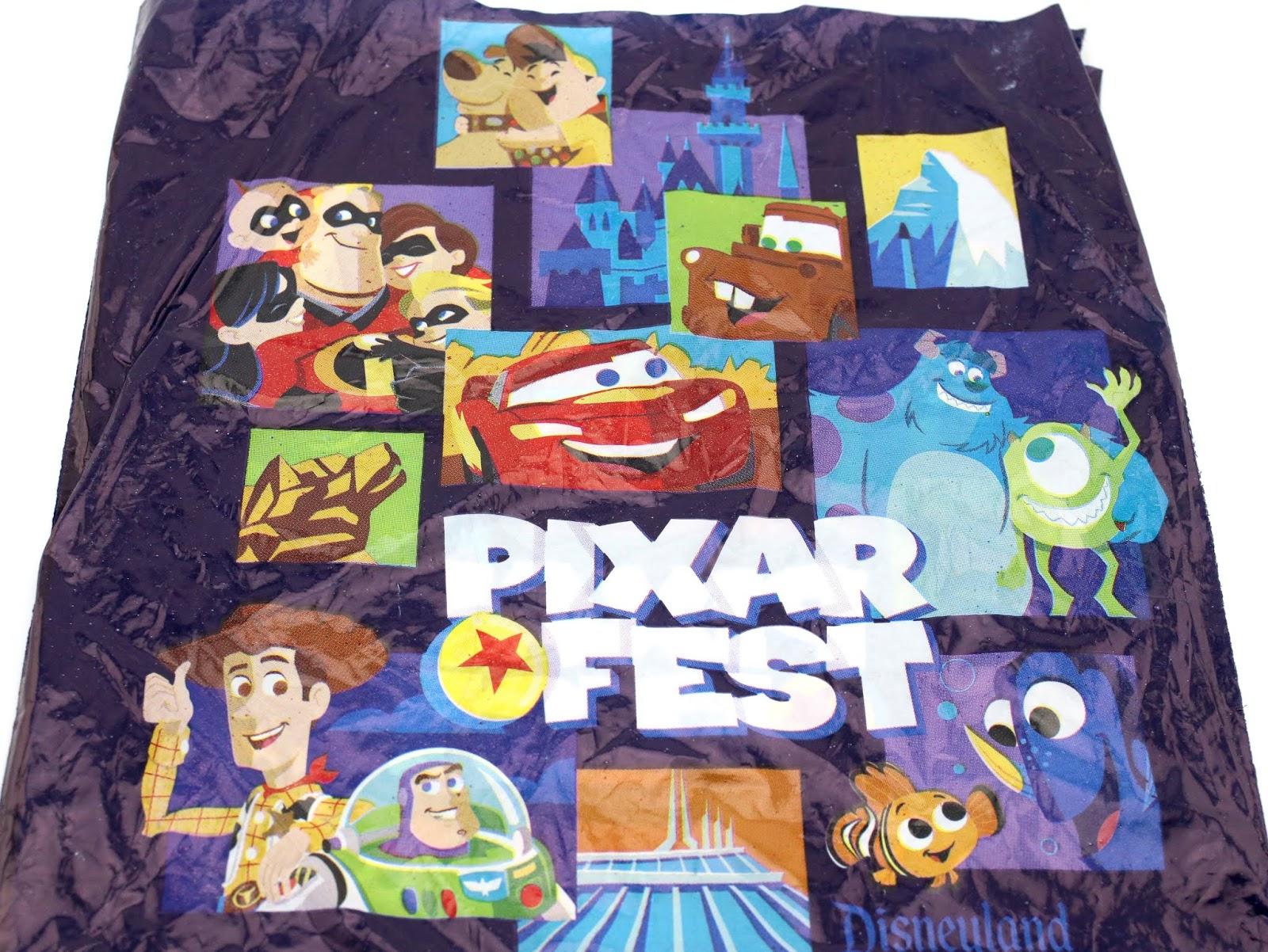 pixar fest 2018 park bag