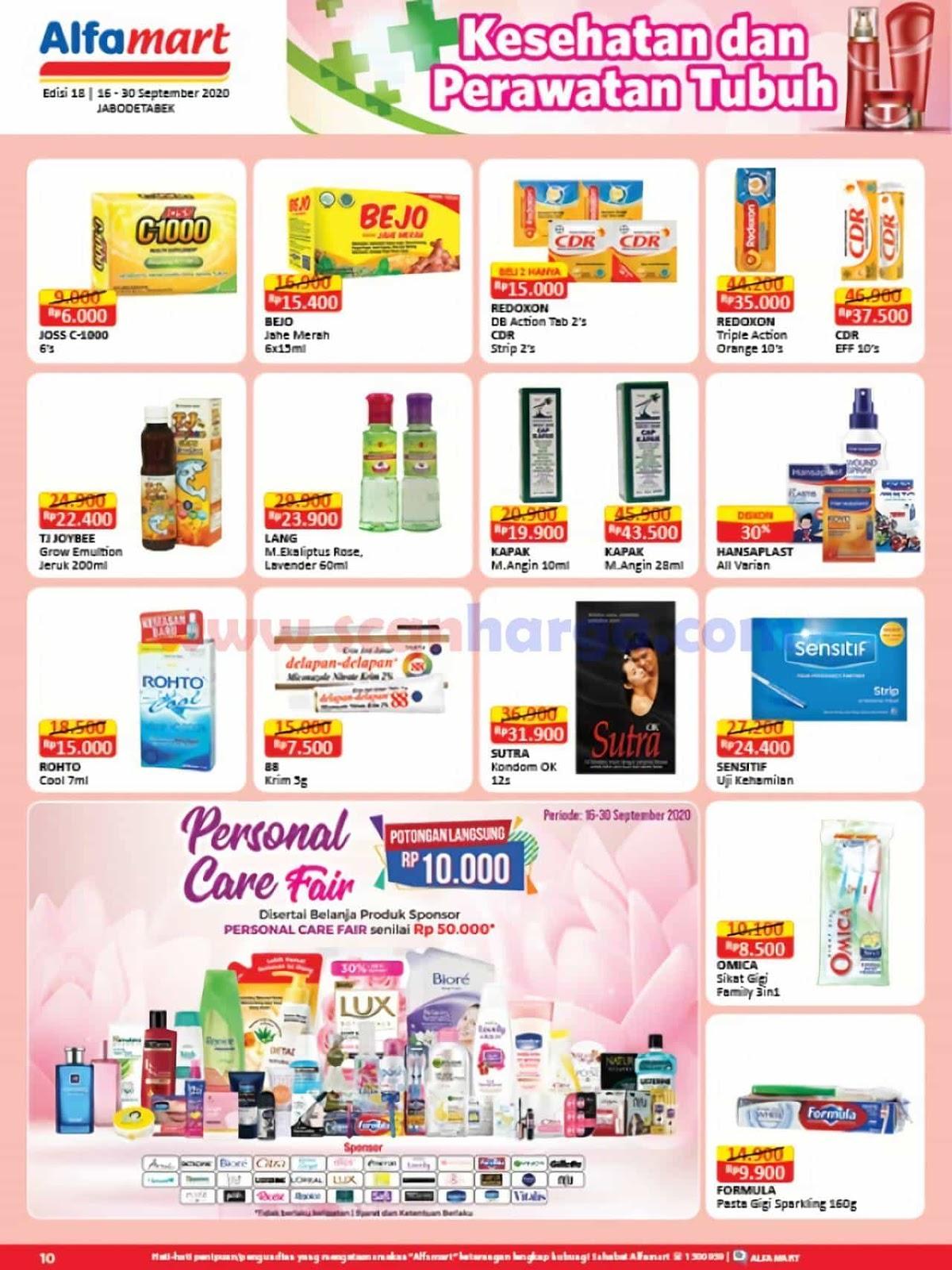 Katalog Promo Alfamart 16 - 30 September 2020 10