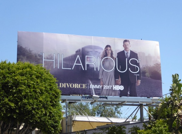 Divorce season 1 Hilarious Emmy billboard