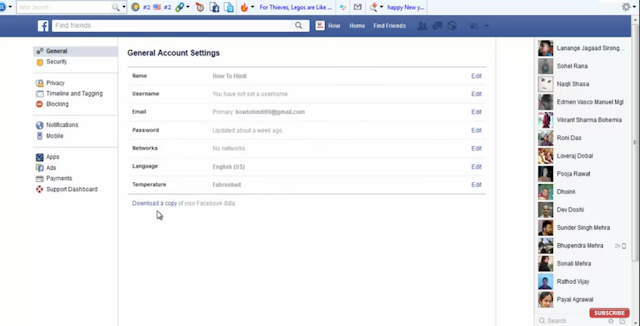how to get deleted facebook messages back into my account