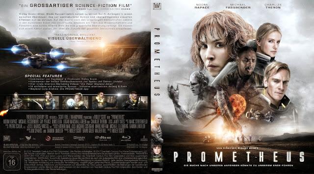 Prometheus 4k Bluray Cover