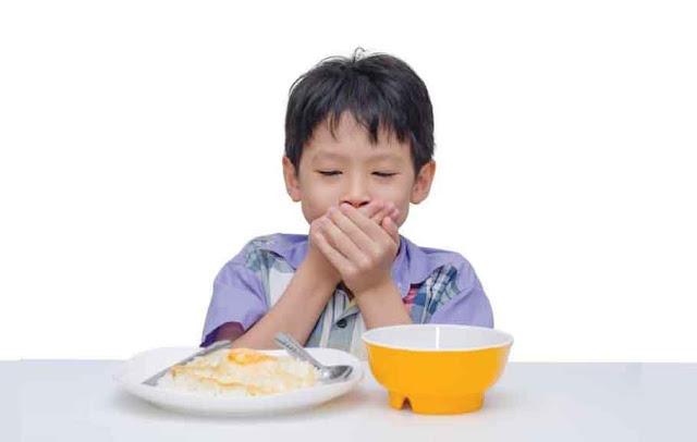 percernaan terganggu membuat pola makan anak tidak teratur