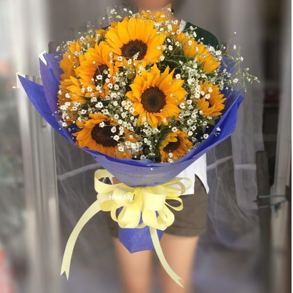 hoa tặng sinh nhật con gái: hướng dương