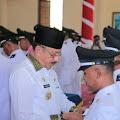 Bupati Natuna Melantik 33 Kepala Desa.