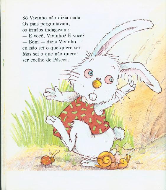 Livro O coelhinho que não era de Páscoa Ruth Rocha