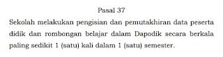 Permendikbud No 1 2021 PPDB Dapodik