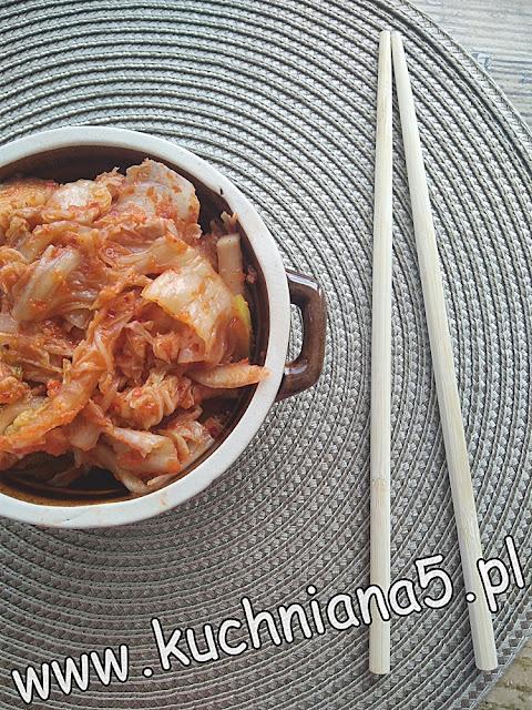 koreańskie kimchi