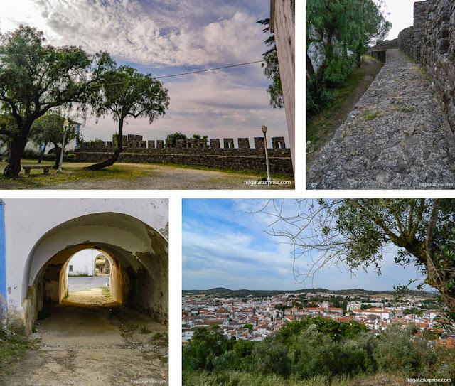 Castelo e Cidade de Montemor-o-Novo, Portugal