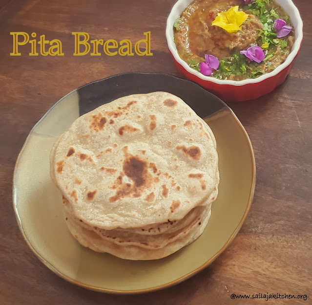images of Pita Bread Recipe / Homemade Pita Bread / Easy Pita Bread Recipe
