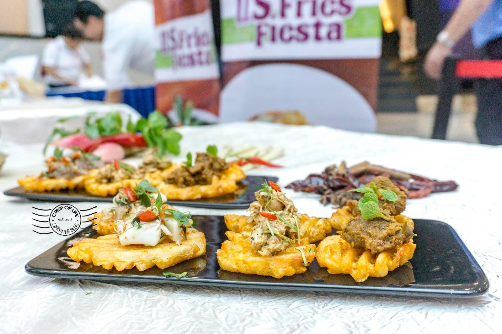 Potatoes Fries in Penang US Fries Fiesta Penang 2017