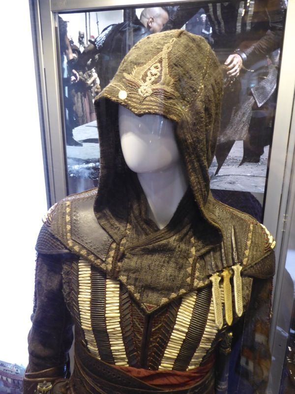 Michael Fassbender Assassins Creed film costume
