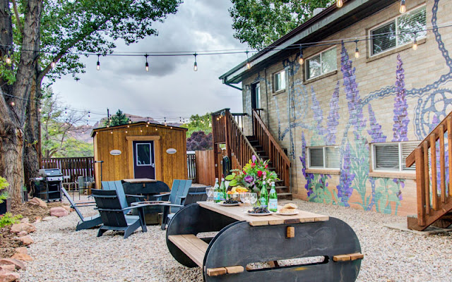 Moab Flats, Dog friendly lodging in Moab, Utah, pet friendly hotels in moab, purple sage flats