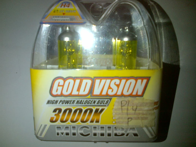 Bohlam H4 Gold Vision Michiba title=