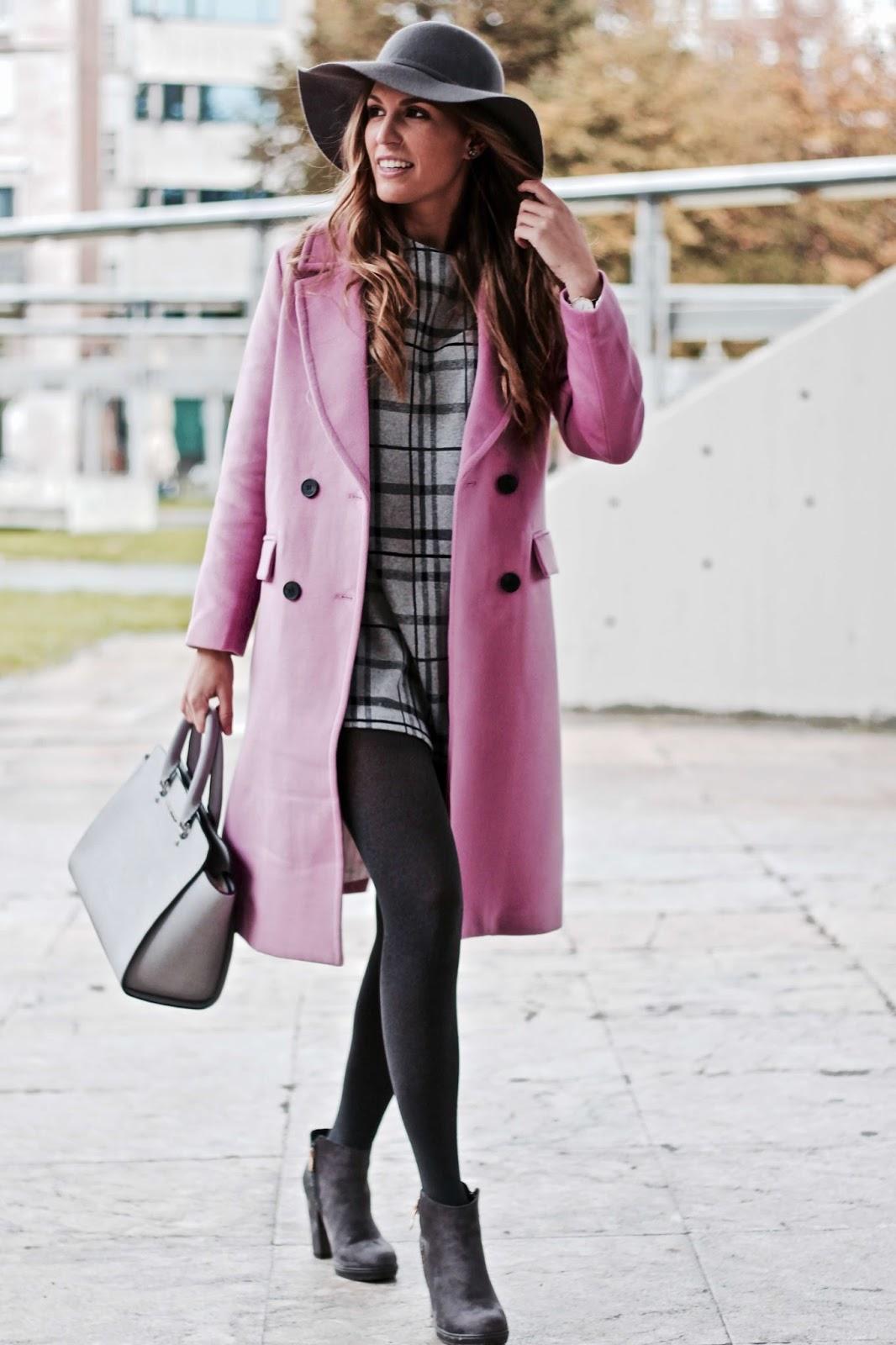 abrigo lila