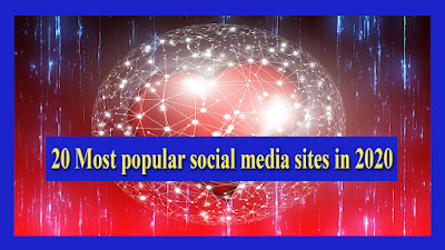 20 most popular social media sites in 2020