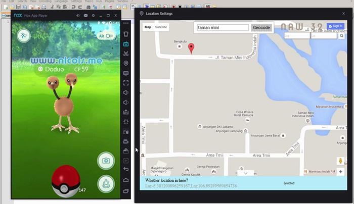 Main Pokémon Go di PC Windows Dengan Nox App Player