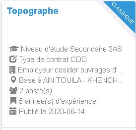 Topographe Employeur cosider ouvrages d'art pole A48-03