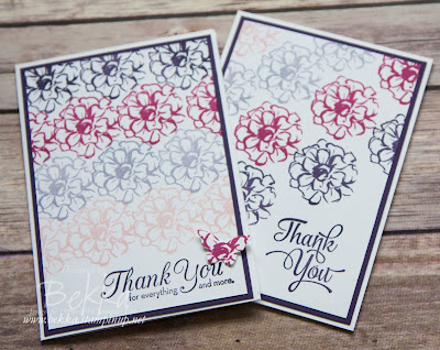 What I Love Thank You Cards