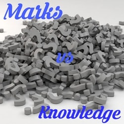 Marks and Knowledge in our society