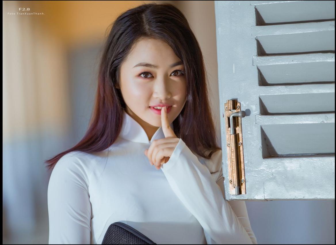 Tuyển tập girl xinh gái đẹp Việt Nam mặc áo dài đẹp mê hồn #60 - 1