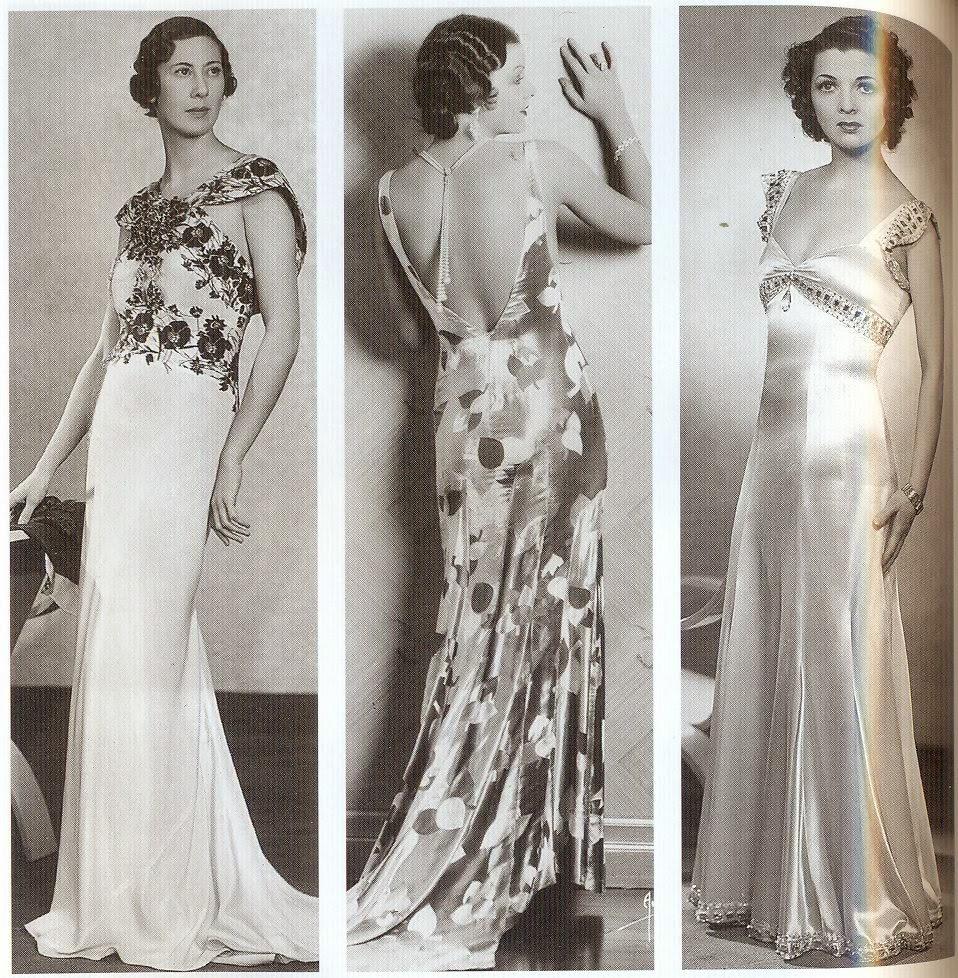 30 luvun vaatteet