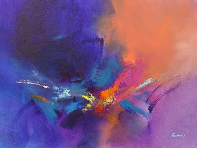 Abstract art by Jessica Hendrickx