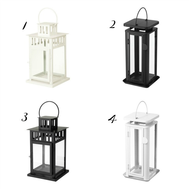 ikea lanterns, ikea decor, ikea, new ikea lanterns