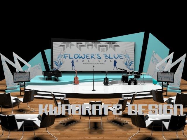 23 Contoh Desain Dekorasi Panggung Indoor Model Desain