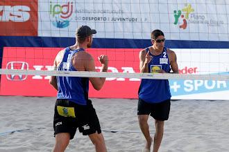Alison/Alvaro Filho e Amdré/George chegam a semifinal da etapa de Espinho do Circuito Mundial de Vôlei de Praia