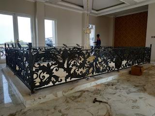 pemasangan railing balkon kabupaten karawang