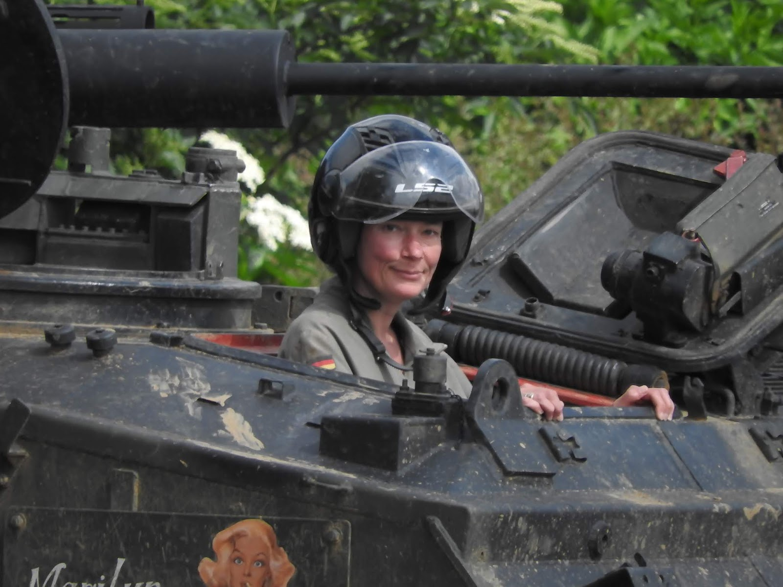 Drive A Tank >> Lesley S 50 Before 50 Challenge Done No 28 Drive A Tank