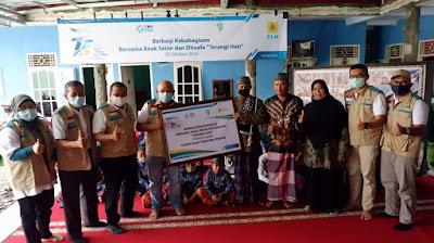 PLN Lampung Salurkan Bantuan Kepada Anak Yatim