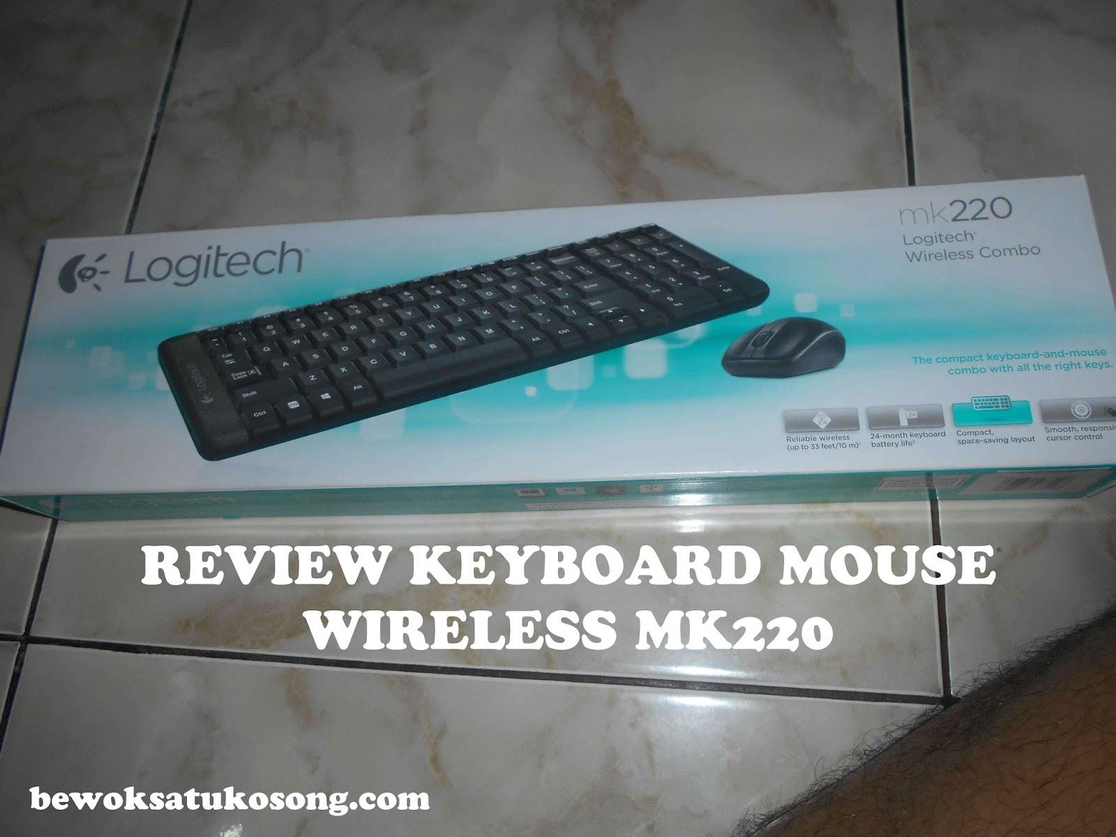 Review Keyboard Dan Mouse Wireless Logitech Mk220 Bewok Tekno Halo Balik Dengan Om Kali Ini Bakal Ngereview Mengenai Merk Mk 220 Jadi 1 Paket Loh Mempunyai