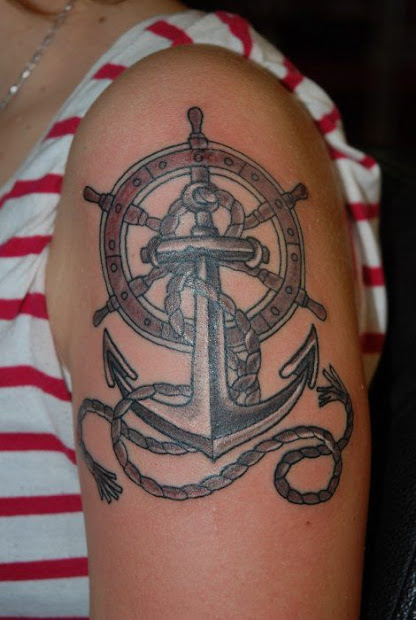 20 Los Mejores Tattoos De Anclas Ideas And Designs