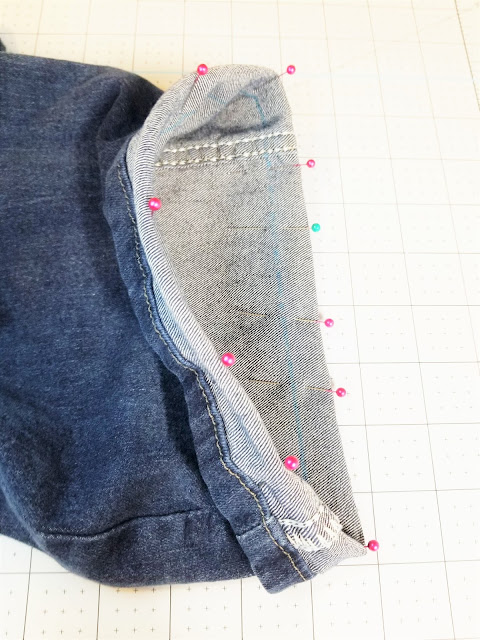 original hem jeans tutorials