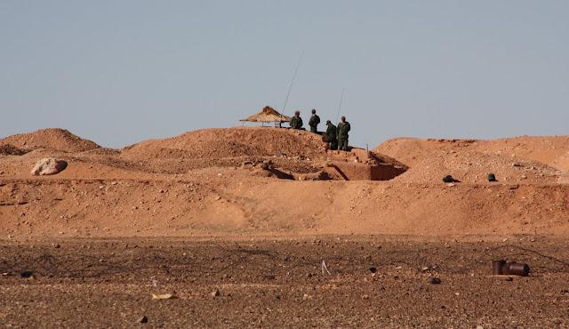 المغرب يشيد جدار يمتد من نقطة الكركرات إلى نقطة 55 للحدود الموريتانية